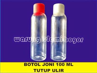 Jual Botol Plastik Tutup Ulir dan Tutup Dalam