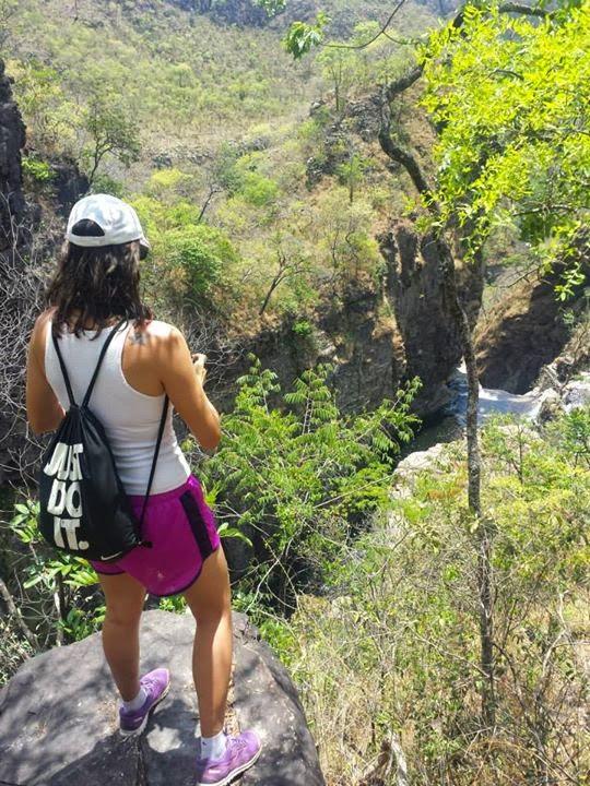 Canyon da Catarata dos Couros na Chapada dos Veadeiros, somente com Guia