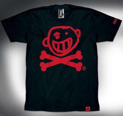 Johnny Cupcakes x Newbury Comics &#8220;Toothface Crossbones&#8221; T-Shirt