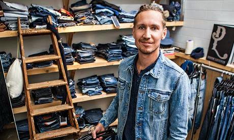 Jon Loman konsep desain di H & M. foto: H & M