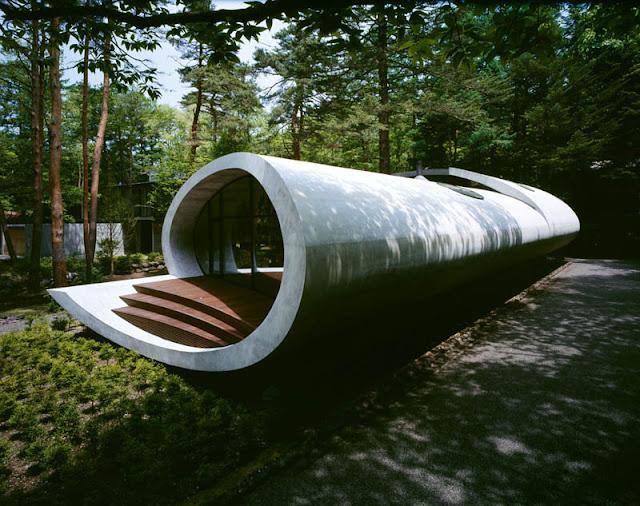 فندق وسط الغابة ... ابداع يابانى لا ينتهى japanese-oval-sushi-