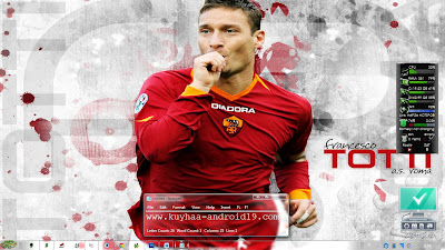 THEME BOLA WINDOWS 7 AS ROMA