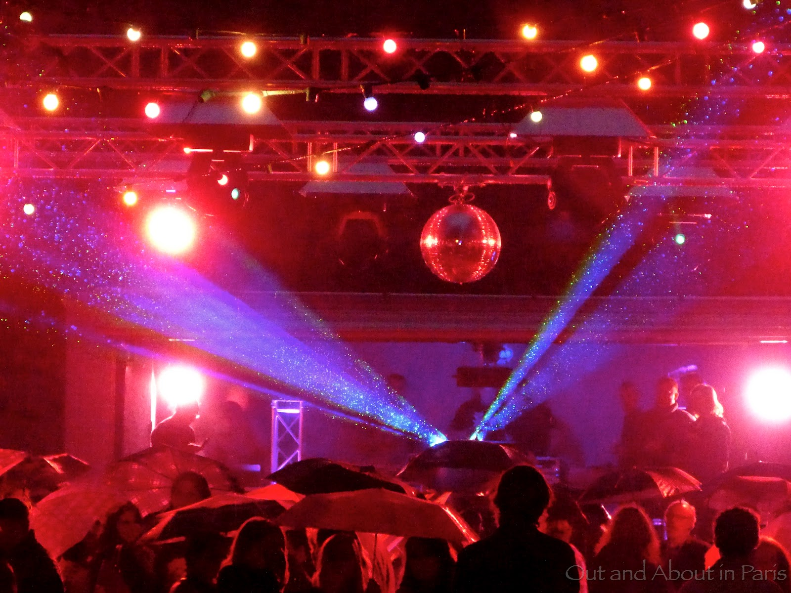 Friday night at the Firemen's Ball - Bastille Day in Paris on