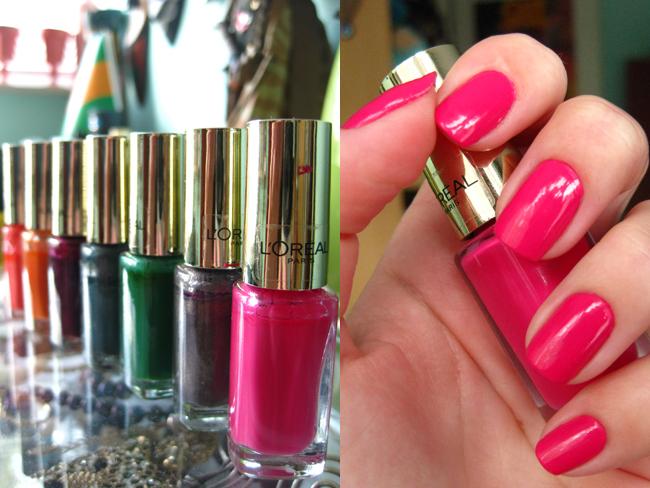 alexandras lifestyle loreal paris color riche le vernis - Vernis L Oral Color Riche