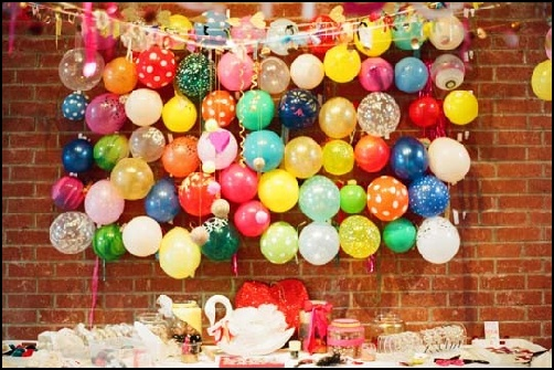 Balloon Decoration & Photography Ideas #1 - We share ideas-