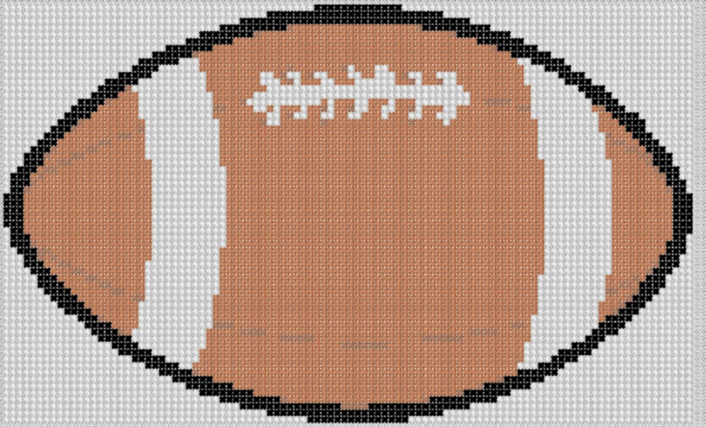 Download image free cross stitch pattern football player pc android