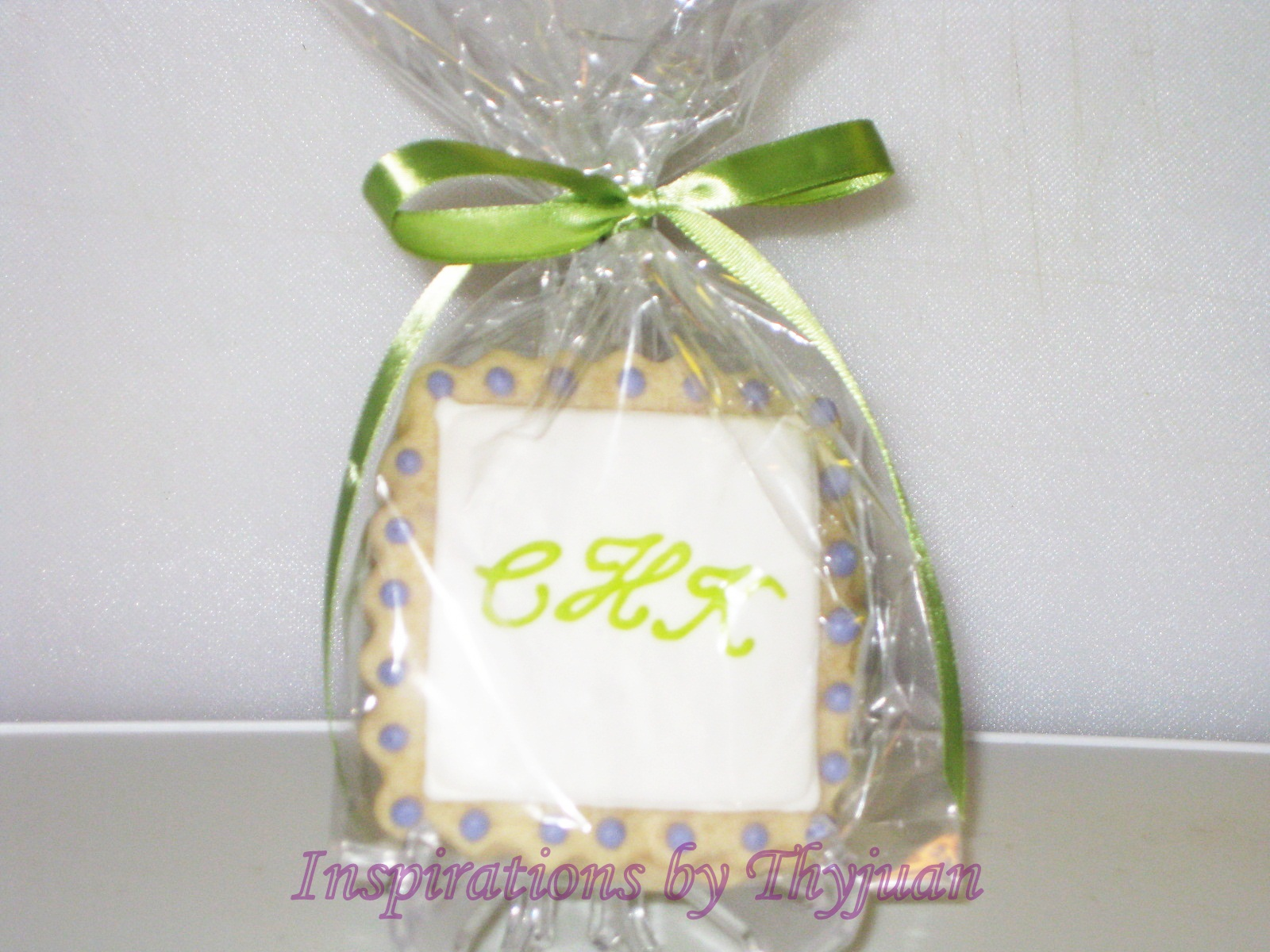 Inspirations by Thyjuan LLC.: Wedding Cookie Favors