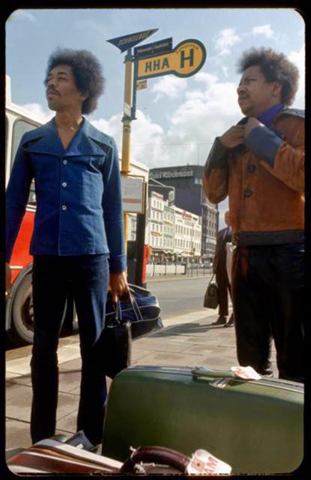 Last Train Coming: Rare Photographs of Jimi Hendrix Coming ...