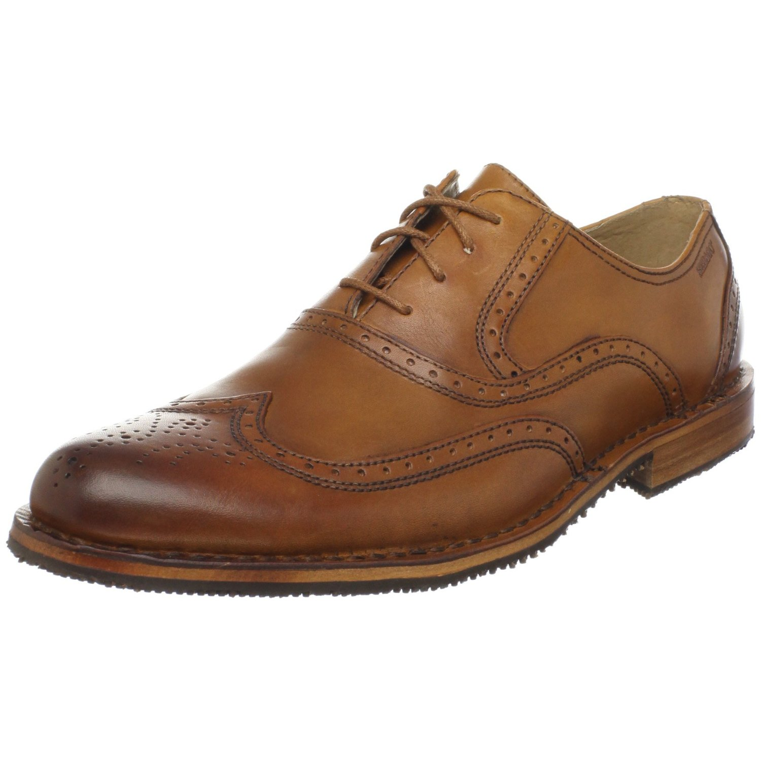 leather shoes for mens sebago s brattle wingtip