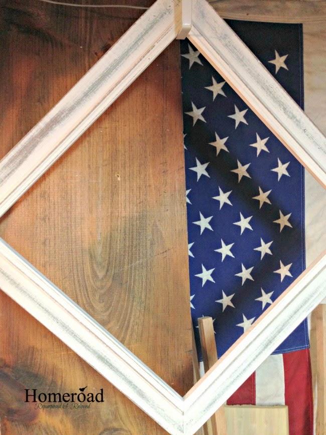 Repurposed Marshalls find Memo Board www.homeroad.net