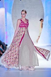 World latest fashion girls party wear dresses pakistani fashion 2012