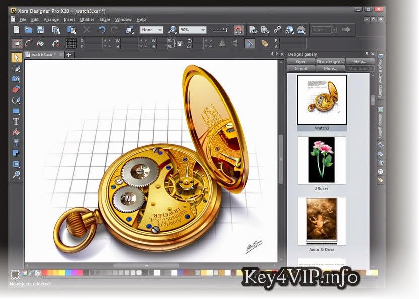 Xara Designer Pro X10 v10.1.5.37495 Full x86+x64+ Content Pack ,Phần mềm thiết kế đồ họa mạnh mẽ