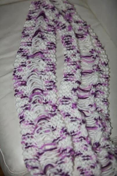 Crochet bufanda con Capucha Y Orejas Para Bebe' Hasta