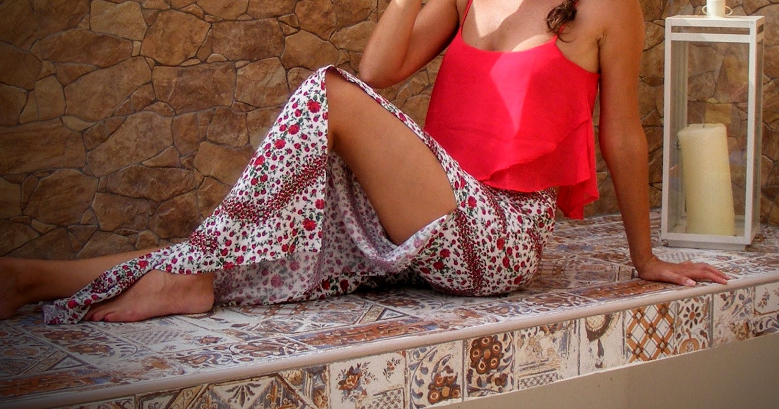 bershka, h&m, fancy, pants, pantaloni, fantasia, stampe, flower, top