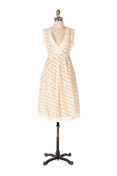 Anthropologie Pinafore Tie-back