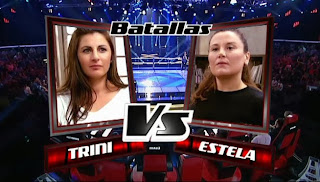 Estela Amaya y Trinidad Amador-Batallas La Voz