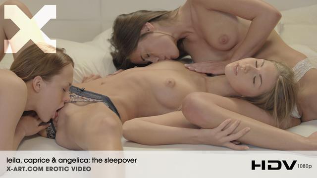 Leila_Caprice_Angelica_The_Sleepover_vid KqxArk 2013-04-23 Leila, Caprice & Angelica - The Sleepover (HD Video) 05280