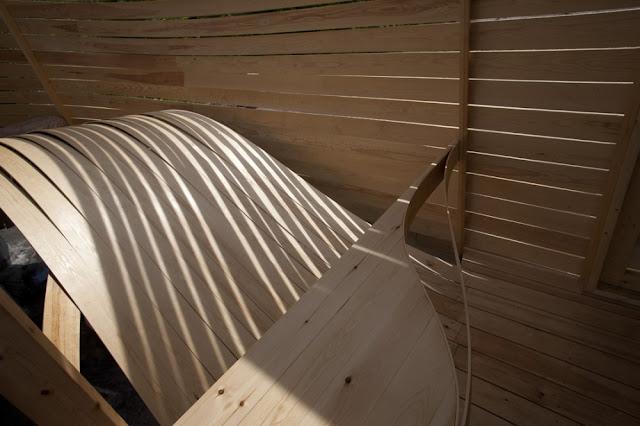 Hotel wisa en helsinki ondas de madera espacios en madera Wisa wooden design hotel