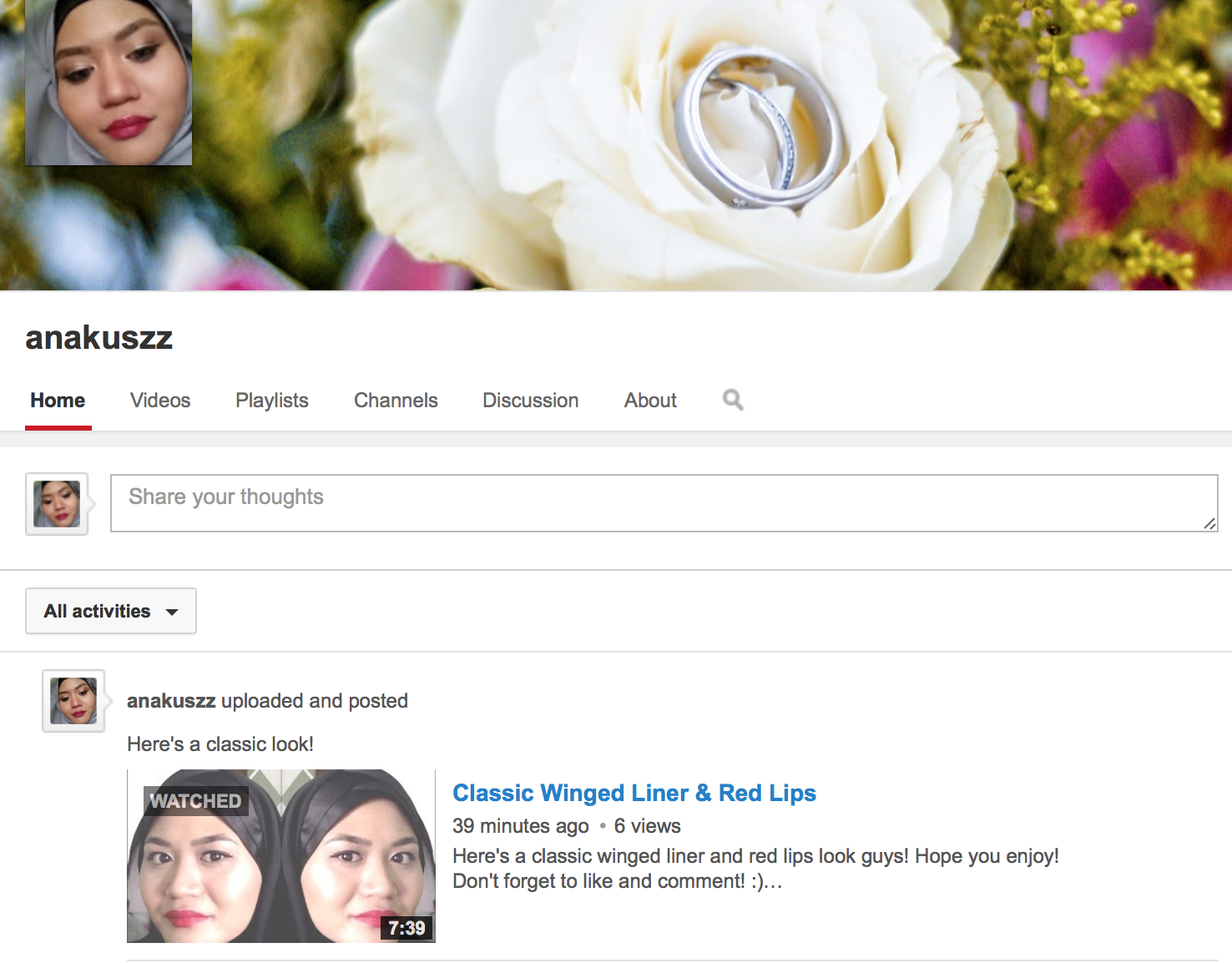 how to change my youtube channel description