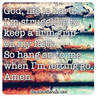 prayer when i'm struggling