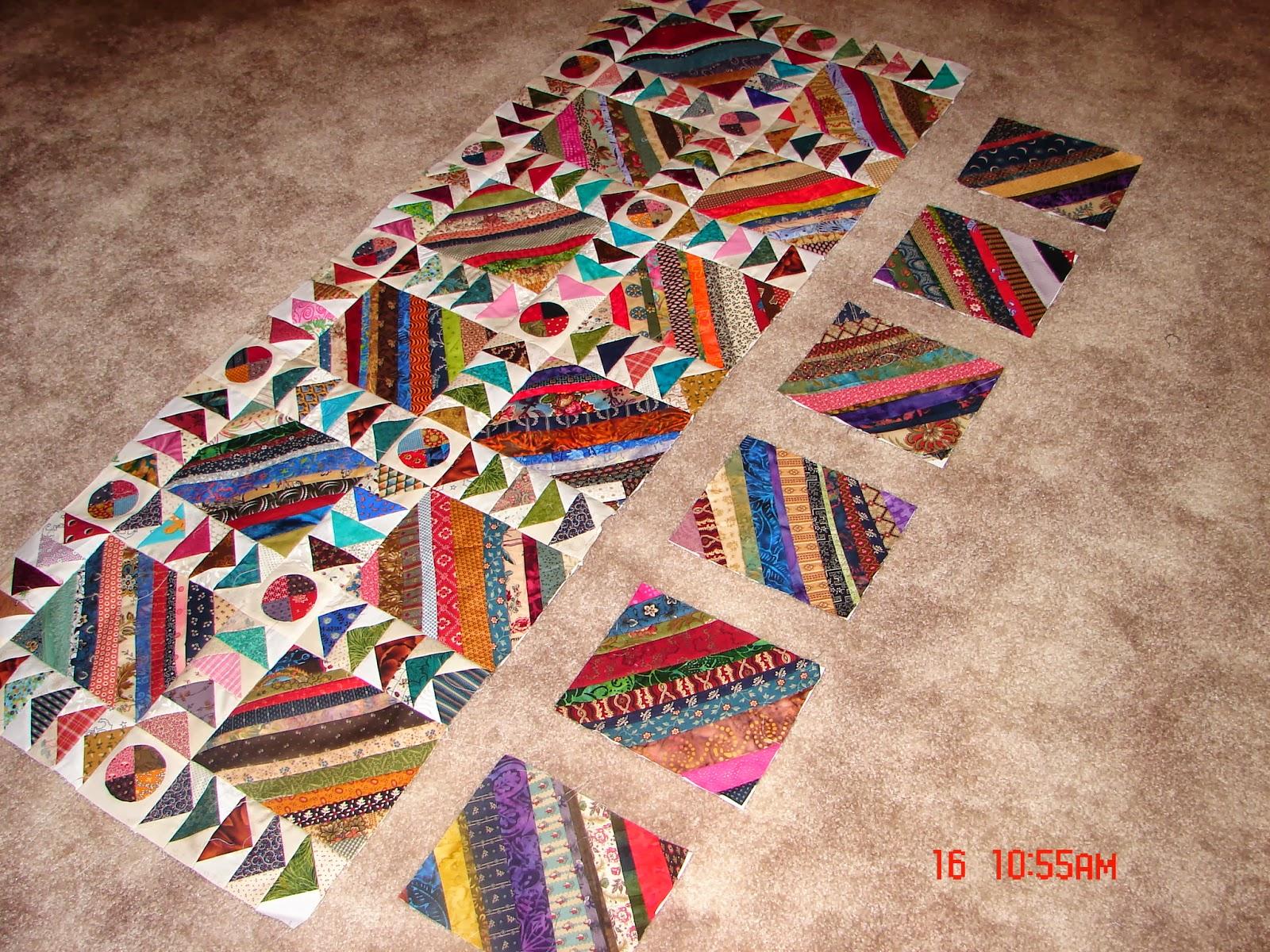 Juliekquilts strings and scraps for Scrap quilt
