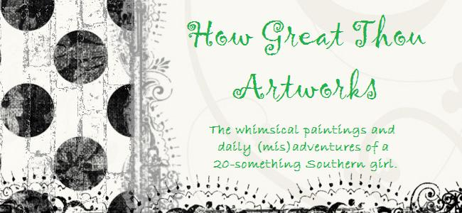 How Great Thou Artworks
