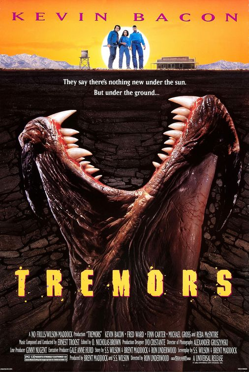 Tremors movie poster