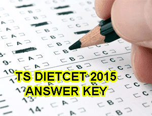 Telangana TS DIETCET TTC Answer Key 2015, TS DEECET/DIETCET Exam Key 09 August 2015, TS DIETCET 2015 Question Paper SET A, B, C, Telangana DEECET TTC Solution Paper 2015 tsdeecet.cgg.gov.in TTC Exam Key 2015, TS D.Ed / DIETs Answer Key 2015 Part-I General English