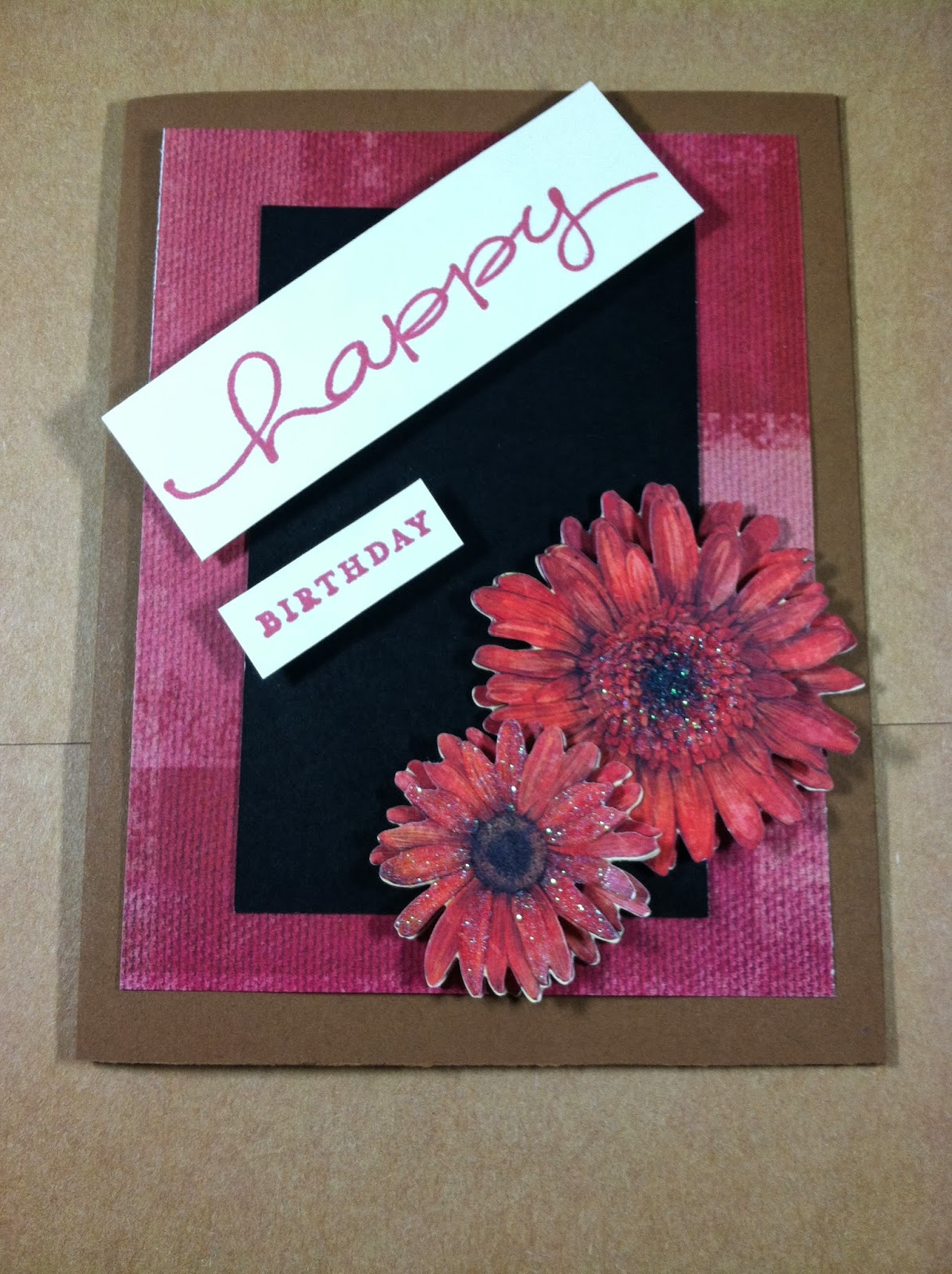 Vannoy plain simple february 2014 i got the red blossom style sarah had a variety of color schemes that coordinated with different types of flowers very nice card kristyandbryce Images