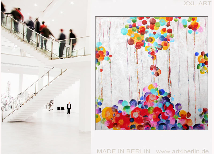 ART-SALE, moderne Kunst, abstrakte Ölgemälde, große ...