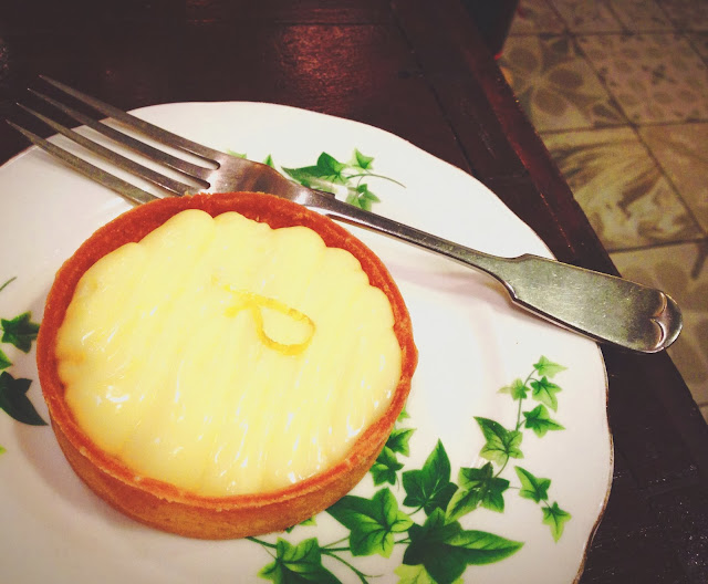 Lemon Cream Tart at Carpenter and Cook