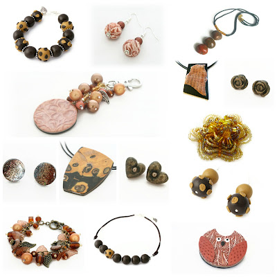 Autumn Tone Jewellery at Lottie of London on Etsy