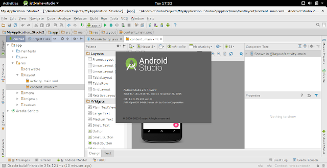 Install Android Studio 2.0 Preview On Ubuntu Linux, Parallel Amongst Existing Installed Android Studio