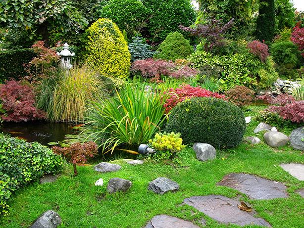 Arte y jardiner a decisiones a tomar en dise o de jardines - Diseno jardines 3d ...