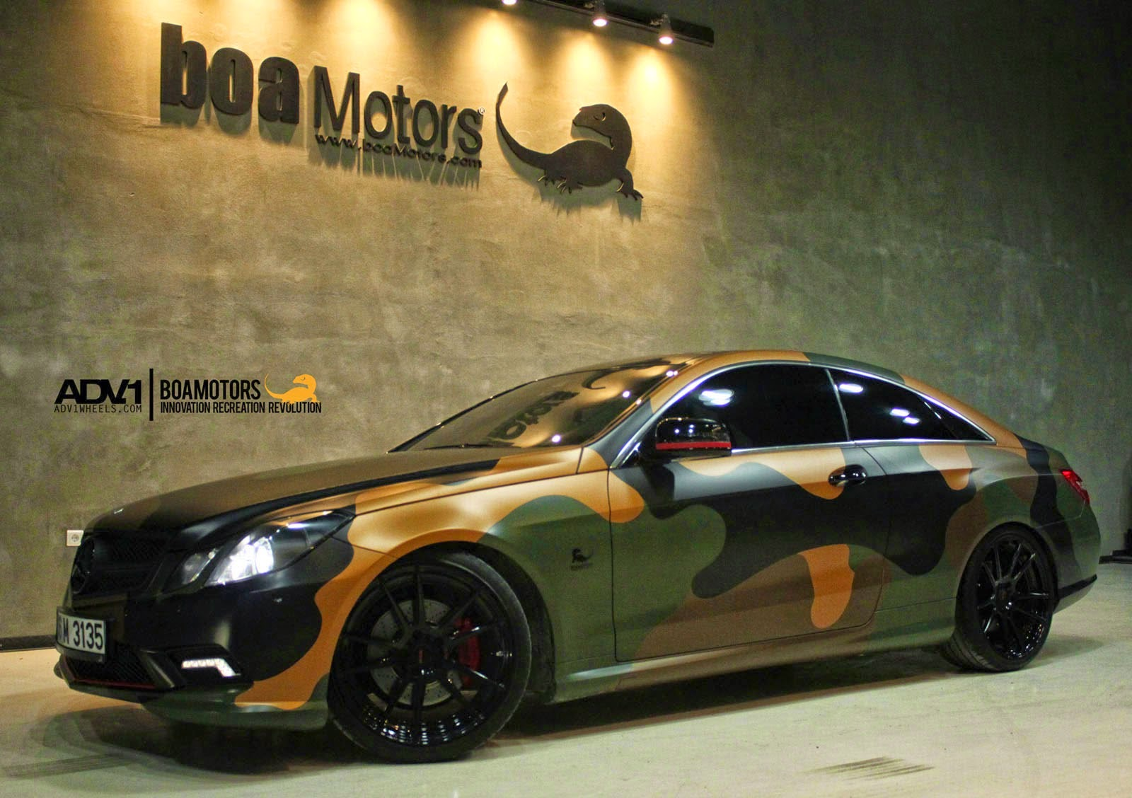 mercedes e class coupe tuning