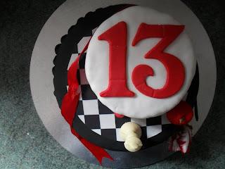 13th Birthday Twilight Saga Cake
