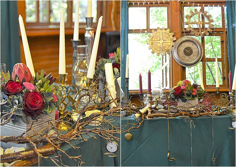 свадьба в стиле стимпанк