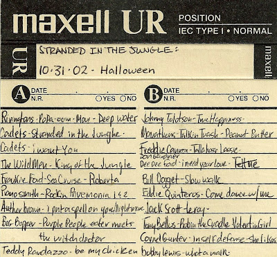 Stranded In The Jungle - 10-31-02 Halloween - Mix Tape
