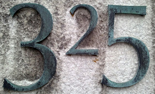 Address Numbers on the Cleveland Library