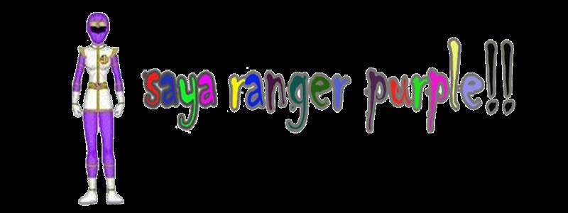 belog ranger purple !!!!