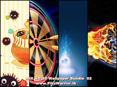 3D HD Wallpaper Bundle 02