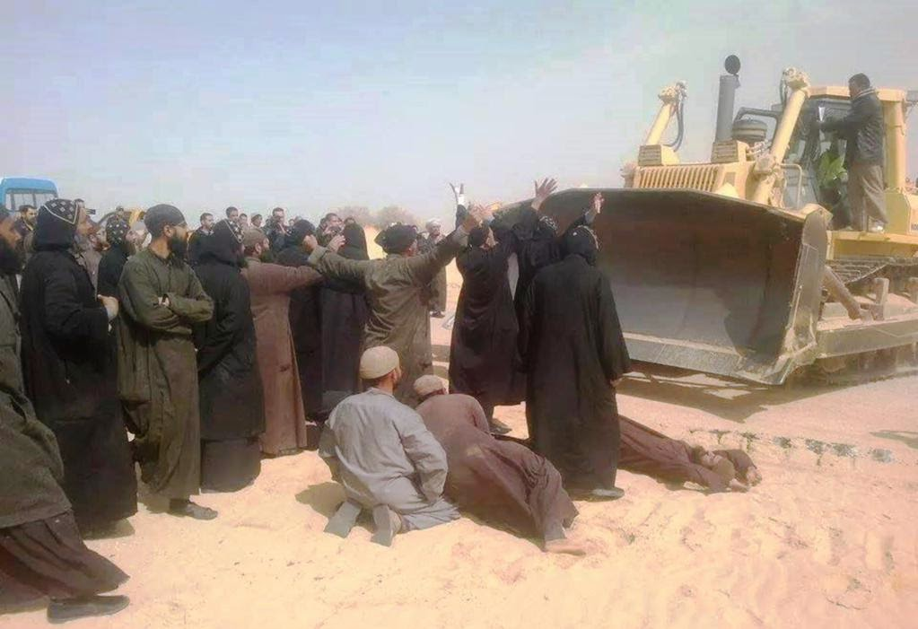 Coptic monks scramble to protect ancient monastery