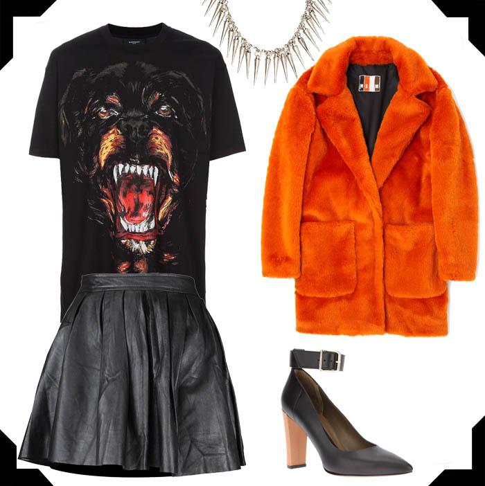 GANG GIRL-Rihanna-o estilo de rihanna-moda de rua-jeans-trend jeans-t-shirts-como usar camiseta no look-08