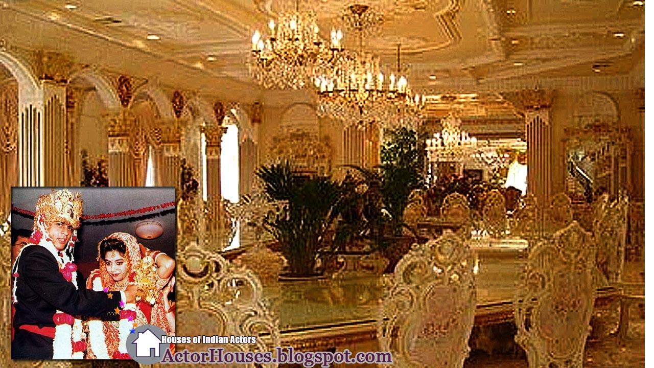 Khan S House Interior Designs Of Bollywood Actor Sharukh Khan S House