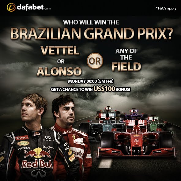Will it be vettel or alonso or any in the field - Brazilian Grand Prix Promo