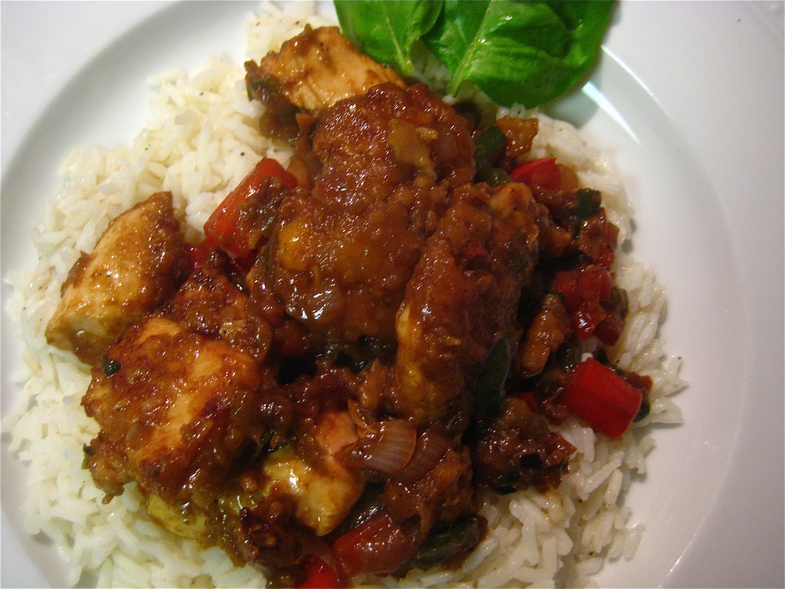 Our McWonderful Life: Spicy Thai Basil Chicken