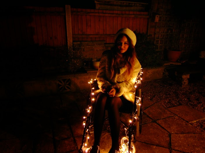Hayley-Eszti's Very Cool Christmas Wheelchair!