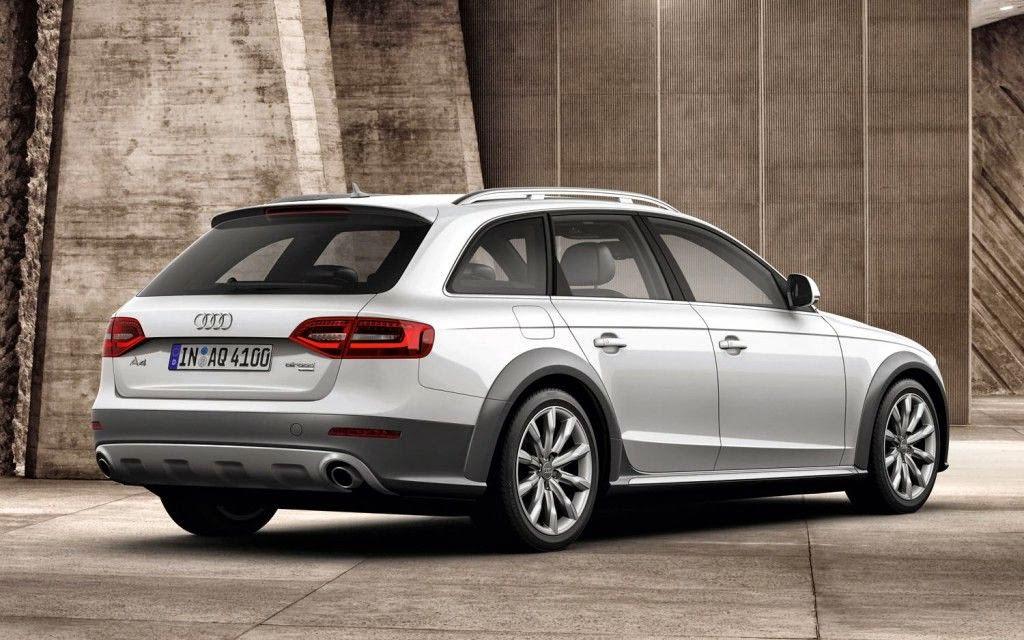 Audi A4 Avant Side View