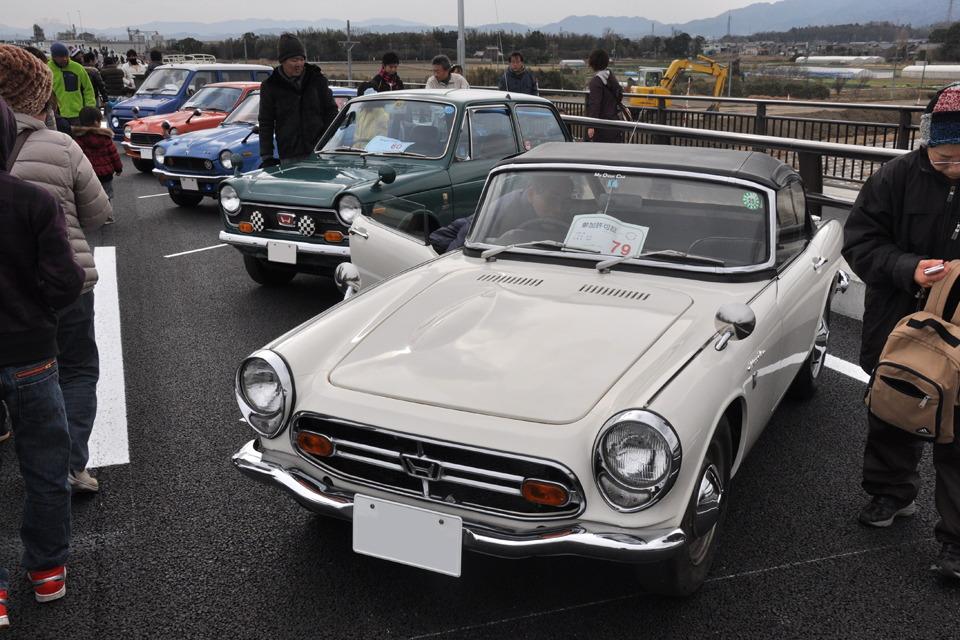 Honda N360 & S800  stary japoński samochód, klasyk, oldschool, 日本車, クラシックカー