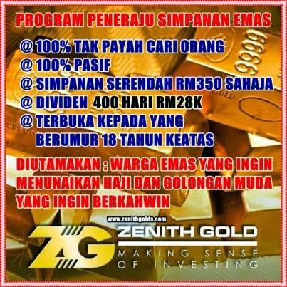 Pelaburan Emas 400 hari